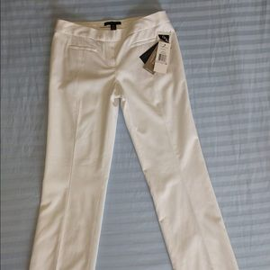 Size 6 Kenneth Cole white pants NWT